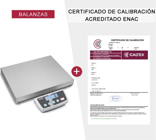 Balanzas con Certificado de Calibracion ENAC