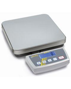Balanza de plataforma con múltiples aplicaciones. Protección IP 65. Apta para pesar alimentos
