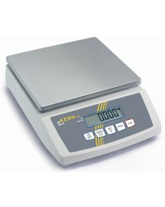 Balanza industrial con indicación secundaria. Opción de impresora e impresión de códigos de barras