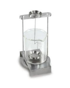 Set para la determinación de la densidad de líquidos y sólidos con una densidad