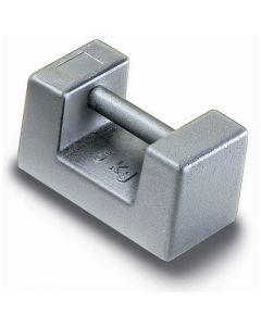 Serie de Pesas de bloque de acero inoxidable. Clase M1