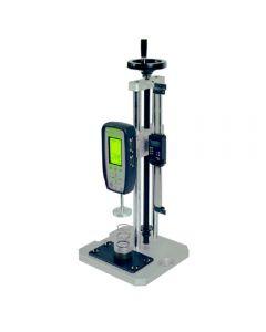 Máquina manual de ensayos de fuerza en muelles