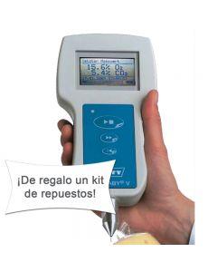 Analizador automático de atmósfera residual en envases