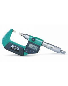 Micrómetro digital con contactos de cuchilla