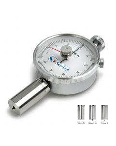 Durómetro analógico SHORE A con indicador de arrrastre