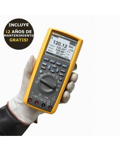 Multímetro  Fluke 289. Multímetro industrial de registro de datos de valor eficaz verdadero