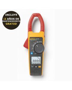 Pinza amperimétrica FLUKE 376 FC de verdadero valor eficaz de CA/CC  con iFlex® . Medida de corriente CA y CC de 1000 A