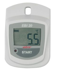 Datalogger EBRO de Temperatura para aplicaciones de laboratorio e industriales. Resistente al agua
