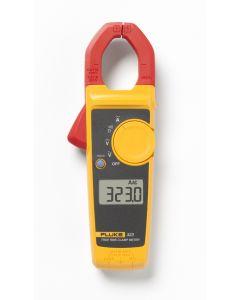 Pinza amperimétrica de verdadero valor eficaz Fluke 323. Medida de corriente de 400 A CA y tensión de 600 V CA y CC
