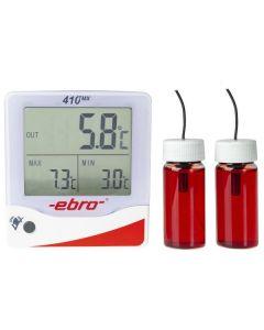 Termómetros de máximas y mínimas para nevera y congeladores