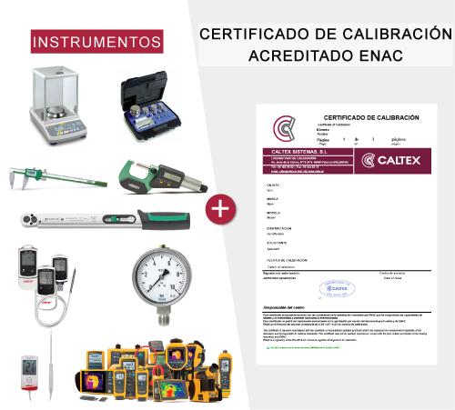 Instrumentos con Certificado de Calibracion ENAC