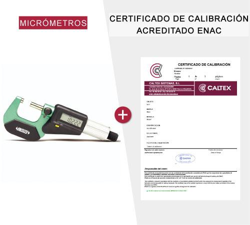 Micrómetros calibrados
