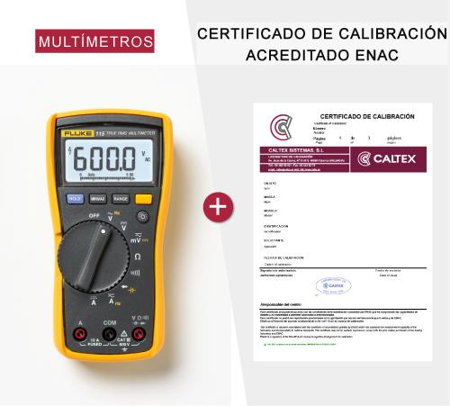 Multimetros calibrados