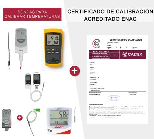 sondas para calibrar temperaturas