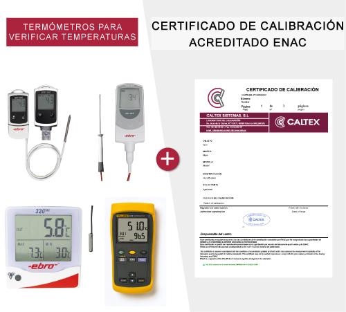 Termómetros para verificar temperaturas